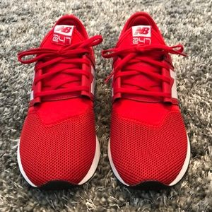 Men's red new balance size 9 1/2